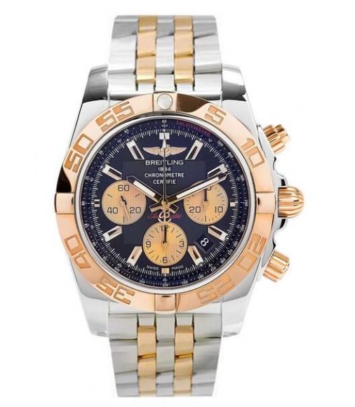 Replica Breitling Chronomat 44 Rose Gold